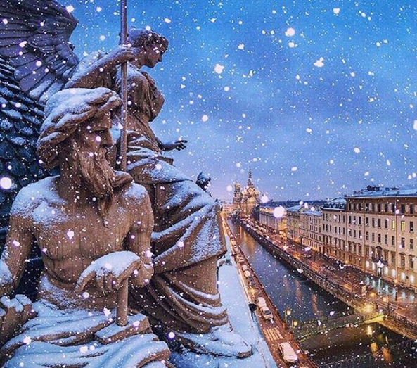 Things to do in St. Petersburg in winter